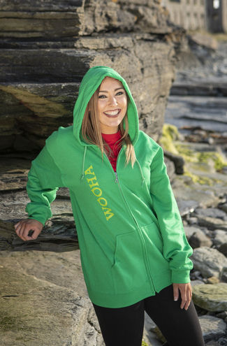 WooHa Zip Up Hoody Green